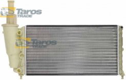 RADIATOR 580X322X23 INLET, OUTLET DIAMETER 28, 28 FOR LANCIA YPSILON 1995.10-2003.12