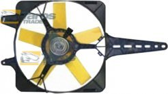 RADIATOR FAN 100 W,280 MM FOR LANCIA DELTA 1979.1-1993.4
