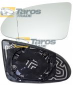 MIRROR GLASS HEATED FOR AUDI A2 2000.1-2005.12 LEFT