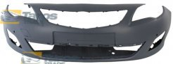 FRONT BUMPER PRIMED WITH PARKING SENSOR HOLES FOR OPEL ASTRA J 2009.9-