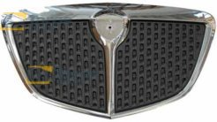 GRILL BLACK WITH CHROME FRAME AFTER 2006 FOR LANCIA MUSA 2004.6-2012.10