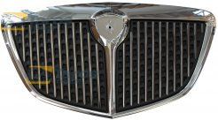 GRILL CHROMED WITH CHROME FRAME AFTER 2006 FOR LANCIA MUSA 2004.6-2012.10