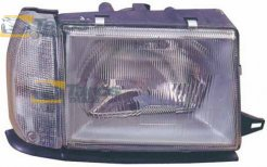 HEADLIGHT WITH MANUAL ADJUSTMENT WITH TURNING LIGHT FOR LANCIA Y10 1984-1991 RIGHT
