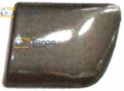 FENDER MOULDING FRONT AFTER 2006 BLACK FOR LANCIA YPSILON 2004.1-2011.6 RIGHT