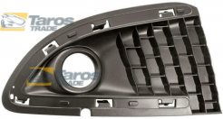 FRONT BUMPER GRILL WITH FOG LIGHT HOLE FOR LANCIA YPSILON 2011.06- LEFT