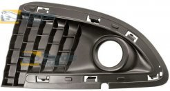 FRONT BUMPER GRILL WITH FOG LIGHT HOLE FOR LANCIA YPSILON 2011.06- RIGHT