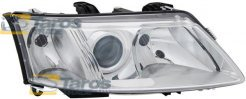 HEADLIGHT ELECTRICAL WITH MOTOR MANUFACTURER: DEPO FOR SAAB 9-3 2002-2007 RIGHT