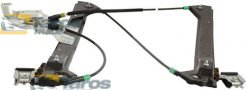 WINDOW REGULATOR FRONT ELECTRICAL WITHOUT MOTOR FOR 5 DOORS EUROPE FOR SAAB 9-3 2002-2007 RIGHT
