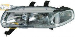 HEADLIGHT ELECTRICAL FOR 4 DOORS WITH WHITE INDICATOR WITHOUT MOTOR MANUFACTURER: DEPO FOR ROVER 400 1995-2000 LEFT