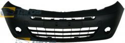FRONT BUMPER MATTE BLACK WITH FOG LIGHT HOLES WITHOUT MOULDING FOR RENAULT KANGOO 2008.1-