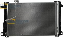 CONDENSER 645 (605)X435 (420)X16 CONDENSER WITH INTEGRATED RECEIVER DRYER FOR MERCEDES C-CLASS W204 2007.3-2011.3