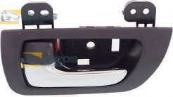 DOOR HANDLE INNER REAR CHROME/BLACK FOR LEXUS RX 2003.2-2009.4 LEFT