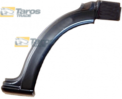 FRONT WHEEL ARCH REAR PART FOR VW LT 1998-2006 RIGHT