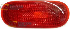 REAR BUMPER LIGHT RED FOR VOLKSWAGEN BEETLE 1998-2010 LEFT