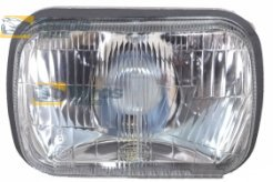 HEADLIGHT WITH PARKING LIGHT FOR FIAT 128 GL 1976-
