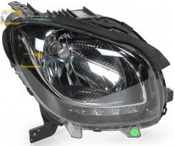 HEADLIGHT WITHOUT MOTOR WITH DAYTIME RUNNING LIGHT VALEO FOR SMART SMART FORTWO 2014- RIGHT