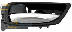 DOOR HANDLE INNER REAR CHROME/BLACK FOR LEXUS RX 2009-2012 LEFT
