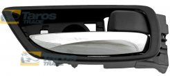 DOOR HANDLE INNER REAR CHROME/BLACK FOR LEXUS RX 2009-2012 RIGHT