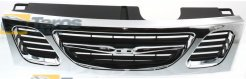 GRILL CHROME/BLACK FOR SAAB 9-3 1998.2-2003.8