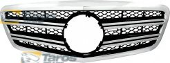 GRILL AFTER 2009 CHROMED/BLACK TYPE AMG FOR MERCEDES S-CLASS W221 2005.9-