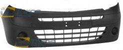 FRONT BUMPER BLACK FOR RENAULT KANGOO 2008.1-
