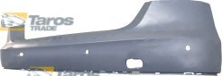 REAR BUMPER PRIMED WITH PARKING SENSOR HOLES FOR AUDI A8 2010-