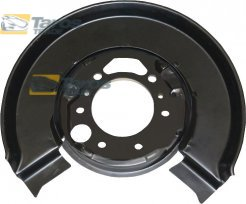 BRAKE DUST SHIELD REAR INNER DIAMETER 78 MM OUTER DIAMETER 310 MM FOR MERCEDES SPRINTER 1995.1-2006.7 LEFT