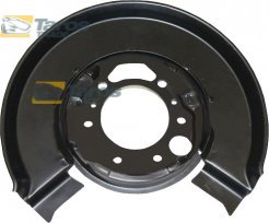 BRAKE DUST SHIELD REAR INNER DIAMETER 78 MM OUTER DIAMETER 310 MM FOR VW LT 1998-2006 RIGHT