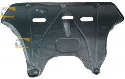 PLASTIC COVER UNDER ENGINE POLYETHYLENE TOP QUALITY MANUFACTURER: POLCAR FOR LANCIA YPSILON 2004.1-2011.6