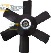 FAN WHEEL ONLY PROPELLER WITH 6 FAN BLADES DIAMETER 280 MM FOR AUDI 90, 90 COUPE 1987-1991