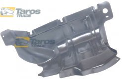 PLASTIC COVER UNDER ENGINE SIDE PART POLYETHYLENE TOP QUALITY MANUFACTURER: POLCAR FOR LANCIA DELTA 2008.7- RIGHT