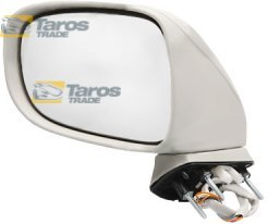 DOOR MIRROR ELECTRICAL PRIMED HEATED WITH PUDDLE LIGHT POWER FOLDING FOR LEXUS IS 2005.10-2009.3 LEFT