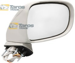 DOOR MIRROR ELECTRICAL PRIMED HEATED WITH PUDDLE LIGHT POWER FOLDING FOR LEXUS IS 2005.10-2009.3 RIGHT
