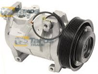 AC COMPRESSOR (NEW) DENSO TYPE: 10S17C BELT PULLEY DIAMETER (MM): 130 NUMBER OF RIBS: 7 FOR HONDA ACCORD 2002.10-2008.3