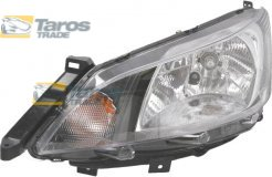 HEADLIGHT FOR H4 BULB ELECTRICAL WITH MOTOR MANUFACTURER: VALEO FOR NISSAN EVALIA 2010- LEFT