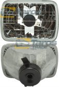 HEADLIGHT FOR H4 BULB FOR YEARS 1984-1990 MANUFACTURER: DEPO FOR NISSAN PATROL 1981-1990