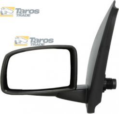 71732868 FIAT PANDA 2009 UP 735536798 LEFT WING MIRROR COVER BLACK OE