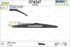 REAR WIPER BLADE REAR SILENCIO LENGTH 300 MM WITH SPECIFIC WIPER MOUNTING VALEO FOR MINI COOPER MINI 2001.6-2007.7
